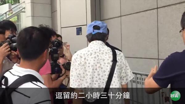 林榮基首會警方  縷述在大陸被拘經過