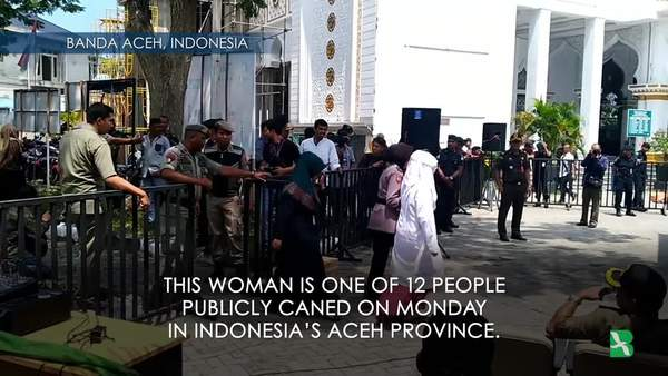 Public Caning Continues in Aceh
