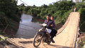 A Risky Trip Across a Rickety Bridge in Cambodia