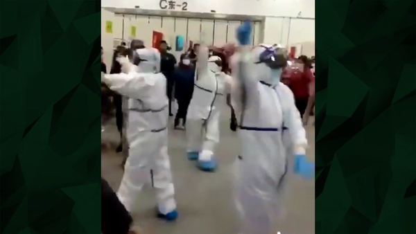 Viral Video Shows Xinjiang Doctors Dancing as Coronavirus Spreads