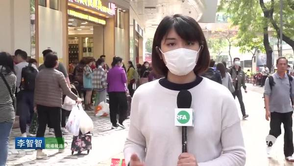 大陸自由行上水掃口罩 專家指香港確診遲早問題
