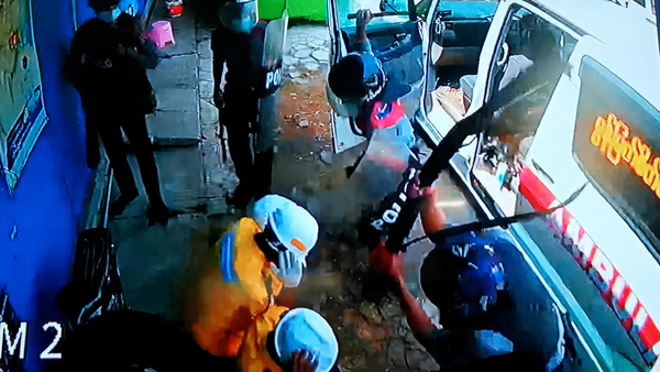 Exclusive RFA Video Shows Police Beating Medics Who Helped Anti-Coup Protesters
