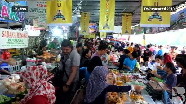 Senyapnya Pasar Takjil Benhil di Tengah Corona
