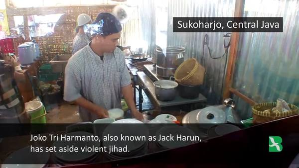 Indonesian Ex-Terrorist Now a Soup Chef