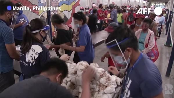 Hunger, Homelessness on Rise in Virus-Struck Philippines