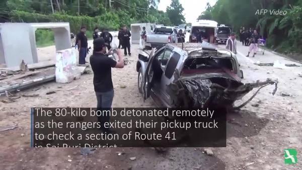 Thailand: Deep South Blast Kills 4 Army Rangers