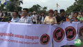Cambodian Activists March Against Controversial NGO Law