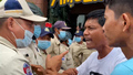 Cambodian Police Clash with Protesters Calling for Release of Jailed Union Leader