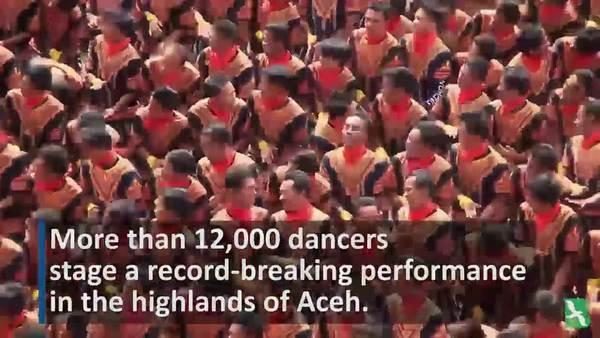 Aceh Dancers Break Records