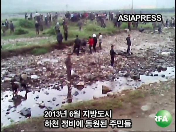 노동동원에 내몰리는 북한 주민들