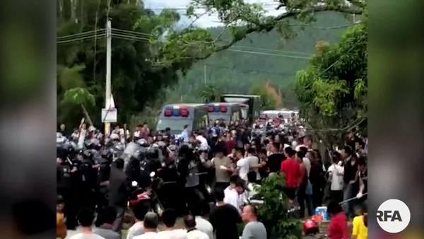 肇庆拟重启垃圾焚烧项目 村民连日抗议遭镇压