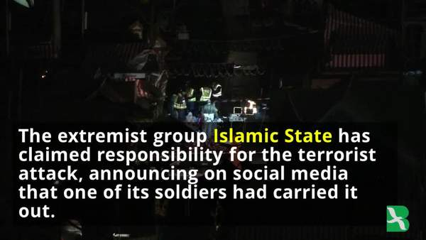 Islamic State Claims It Carried Out Berlin Attack