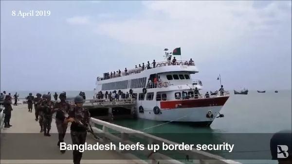 Bangladesh Deploys Border Guards to Island Near Myanmar