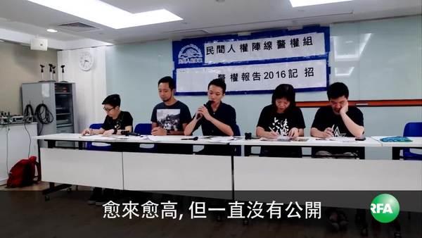 民阵:警方滥权问题越趋严重