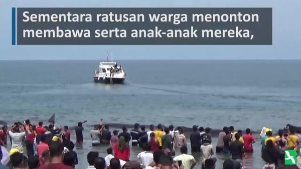 Sepuluh Paus terdampar di Pantai Aceh