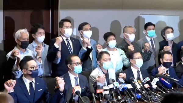 Pro-Democracy Lawmakers Resign in Hong Kong After Beijing Ousts Their Colleagues