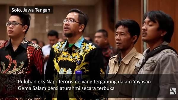 Eks-Narapidana Terorisme Bersilaturahmi dengan Gubernur Jawa Tengah