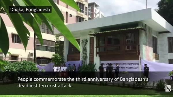 Bangladeshis Mark Third Anniversary of Dhaka Café Terror Attack