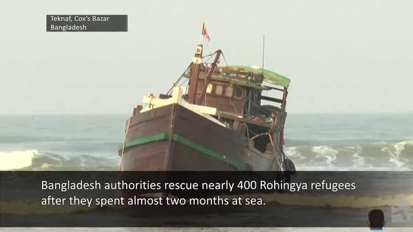 Rohingya Boat Survivor: 'We Had to Suffer a Lot'