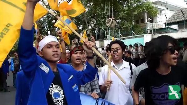 Hundreds Rally Over Rohingya Muslims in Jakarta, Yangon