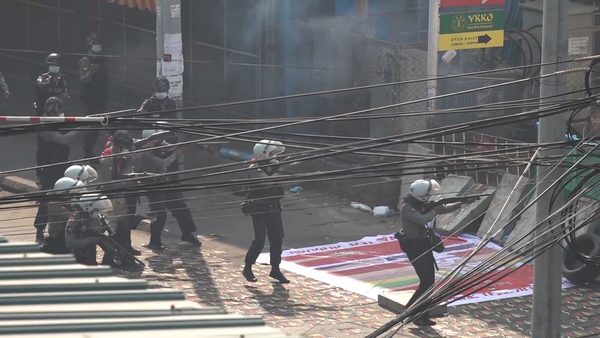Myanmar Security Forces Kill at Least 18 in Crackdown on Anti-Coup Protests