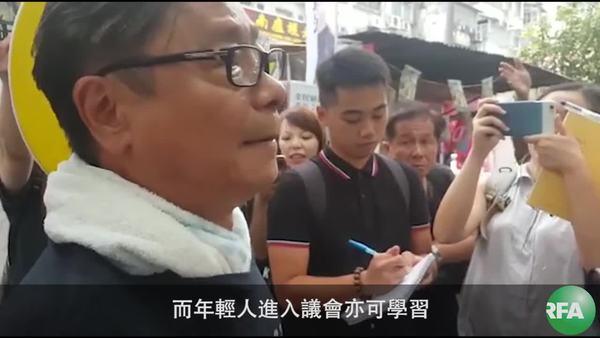 黃毓民支持年青人參選   但希望各候選人不要抹黑對方