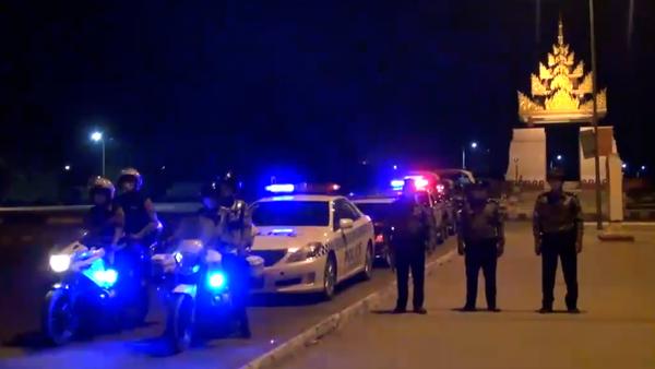 Viral Video Shows Myanmar Police Beating Man for Violating Coronavirus Curfew
