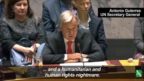 UN Chief: Rohingya Crisis a 'Human Rights Nightmare'