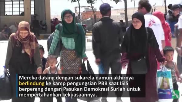 Perempuan-perempuan Indonesia Melarikan Diri dari Cengkraman ISIS di Suriah