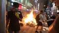 Fires Blaze in Hong Kong as Protests Continue