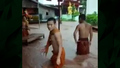Flooding Inundates Buddhist Temple in Laos