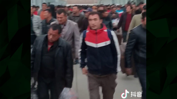 TikTok Videos Show Hundreds of Uyghurs Transferred to Chinese Factories