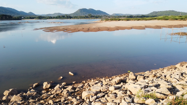 Low Mekong Water Levels as Lao Dam Begins Operations