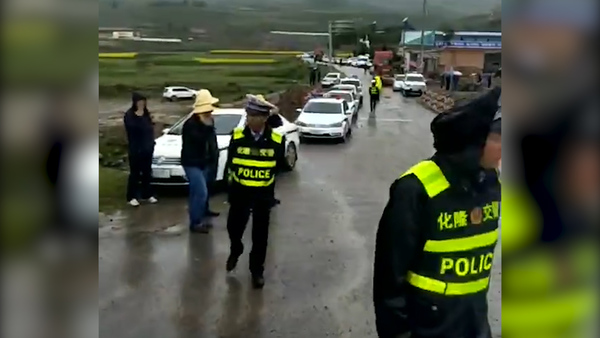 Heavy Police Presence at Tibet Water Diversion Site