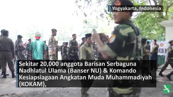 Pemuda NU dan Muhammadiyah Bersama Serukan Toleransi