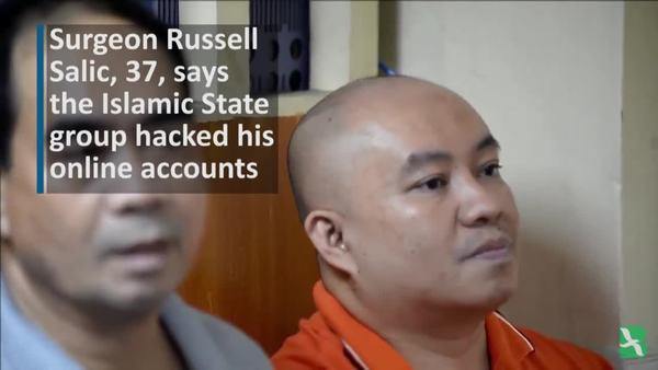 Philippine Doctor Charged in Terror Plot Says His Accounts Were Hacked