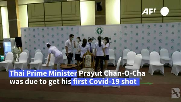 Thai PM a No-Show for AstraZeneca Jab
