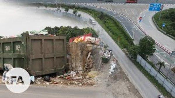 """558 hộ dân sống cạnh bãi rác ký tên đòi """"môi trường sạch"""""""