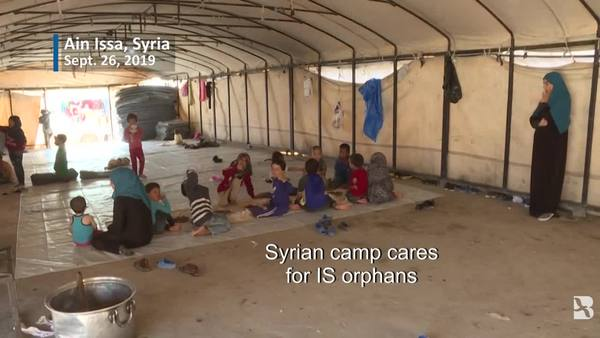 At Syrian Camp, Uncertain Future for Orphans of Foreign IS Fighters