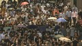Thousands Protest Hong Kong's Ban on Masks