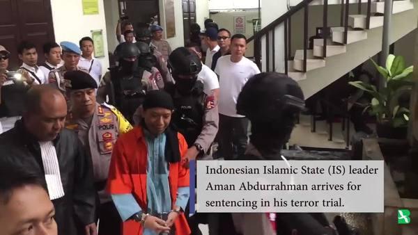 De Facto Indonesian IS Leader Gets Death Sentence in Terror Trial