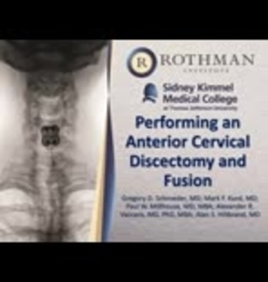 Video Gallery : Clinical Spine Surgery