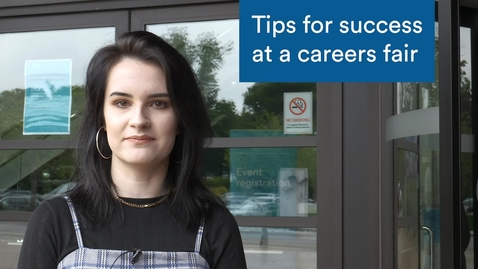 Thumbnail for entry 7 Tips for Success at a Careers Fair