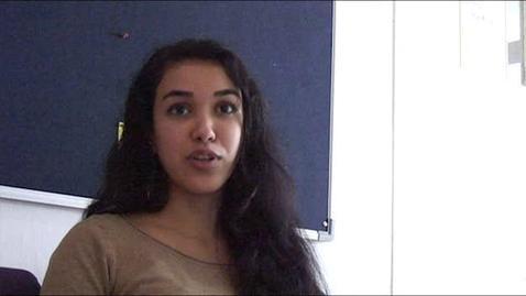 Thumbnail for entry Soumia Mekki - International Relations