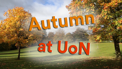 Thumbnail for entry Vlog: Autumn in Nottingham