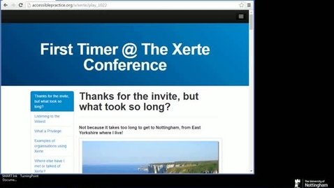 Thumbnail for entry Sal Cooke - Keynote