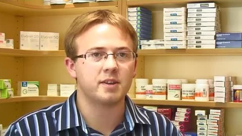 Thumbnail for entry Wesley Artist - MPharm Pharmacy