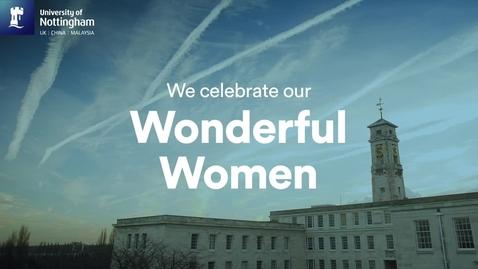Thumbnail for entry Celebrating Nottingham women
