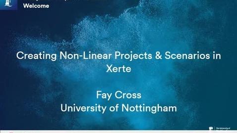 Thumbnail for entry Non-linear navigation in Xerte