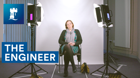Thumbnail for entry The Engineer | Asking people questions as the camera moves closer to their face | Sarah Sharples